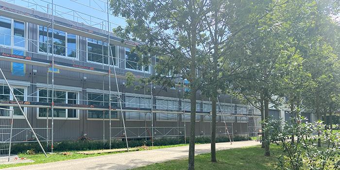 Zolliker Schulhaus wächst