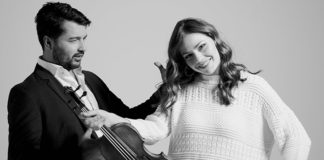 Die Solisten Sira Eigenmann und Srdjan Vukasinovic