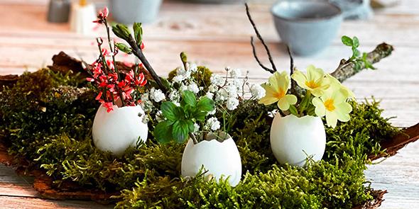 Basteln, backen und mixen für Ostern