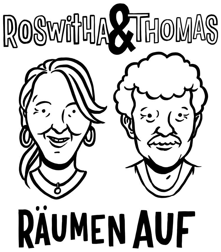 Roswitha und Thomas räumen auf