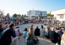 Beliebt: Das Pausenplatzkonzert der Musikschule Zollikon. (Bild: zvg)