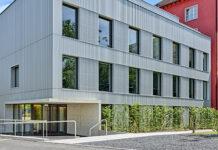 Neubau an der Nordseite des Spitalzentrums im Spital Zollikerberg. (Bild: Roger Frei)