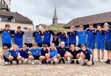 Das Zürisee Unihockey Team bereitete sich im Trainingslager auf die kommende Saison vor. (Bild: zvg)