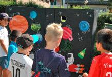 Das Kinderfest des Freizeitzentrums unter dem Motto «Weltall». (Bild: bms)