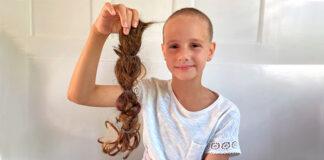 Lia Dilara Troglia hat sich die Haare raspelkurz schneiden lassen. (Bild: ab)