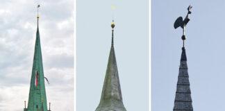 Die Aussichten für einen Zusammenschluss der reformierten Kirchen Zollikon (l.), Zumikon (m.) und Zollikerberg stehen gut. (Bilder: Archiv)