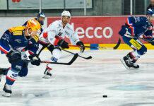 Der Schwede Viktor Backman war gegen die Ticino Rockets im Element und erzielte fünf Scorerpunkte. (Bild: zvg)